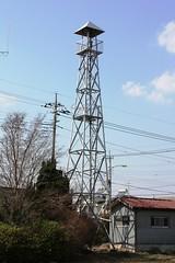 渋井の火の見櫓(川越市)
