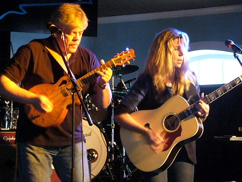 Terri Hendrix and Lloyd Maines at Maggie Mae's