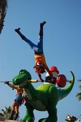 Acrobatic Woody