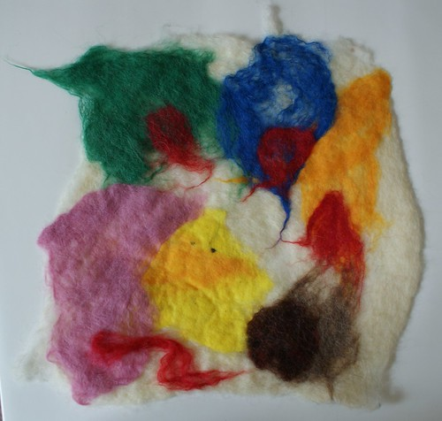 First attempt at felting
