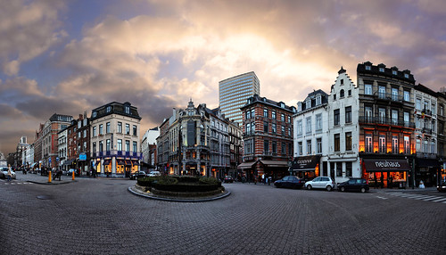 Place du Grand Sablon, Brussels, Belgium