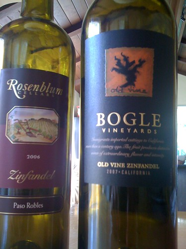 Grape Madness Round #2: Rosenblum vs. Bogle