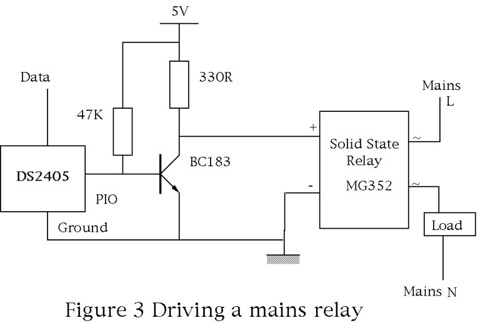 Drive a solid state relay with low voltage Page 2