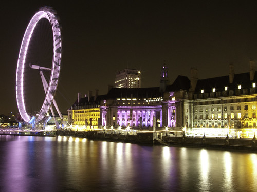 London Eye Nachts
