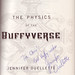 """The Physics of the Buffyverse"" signed by Jennifer Ouellette"