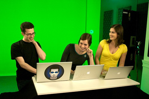 Chris Pirillo, Veronica Belmont & Lisa Bettany