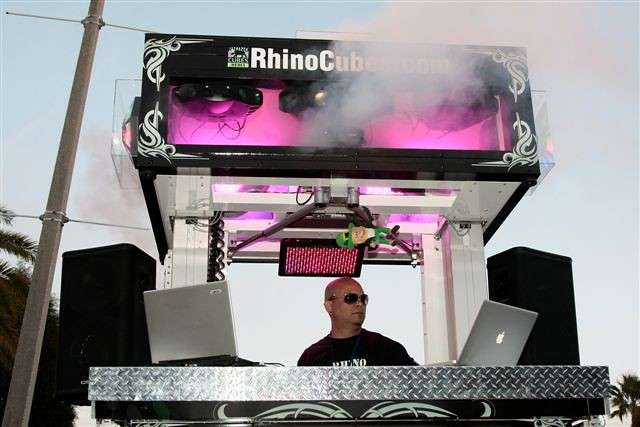 Rhino Cubes Media Edition Entertainment Unit Ybor Parade by rhinocubes