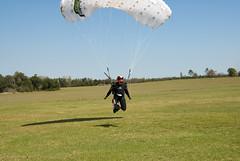 Skydive Mar 09, bedsheet swooping