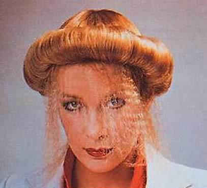 ginger blancmange hair style
