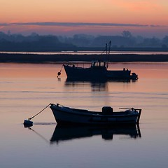 Deben 0138 Waldringfield (barrycross) Tags: uk reflection water sunrise dawn boat suffolk spring flickr yacht calm bouy equinox dinghy moorings riverdeben buoyant barrycross easternlightphotography barrycrossphotography wwwbarrycrossphotographycom