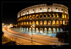 The Center Of The Ancient World (Sean Molin Photography) Tags: city longexposure rome roma heritage scale beautiful soldier fight lowlight european roman circus landmark colosseum arena huge coliseum popular epic colossal emperor gladiator colosseo wonderoftheworld colise colorsofthenight anticando vacationeuropeitalyrome2009marchvacationitalli vacationeuropeitalyrome2009marchvacationitallian seanmolin wwwseanmolincom