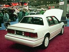 1991 Dodge Spirit R/T (splattergraphics) Tags: spirit turbo dodge 1991 mopar carshow baltimoremd baltimoreconventioncenter spiritrt fwdmopar motortrendinternationalautoshow