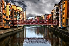 Girona Puente Eiffel II (No HDR) (Jose Luis Mieza Photography) Tags: spain flickr award catalonia catalunya catalua cubism supershot benquerencia flickrshop abigfave reinante platinumphoto impressedbeauty jlmieza reinanteelpintordefuego joseluismieza