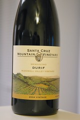 2004 Santa Cruz Mountain Vineyards McDowell Valley Vineyard Durif