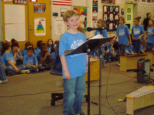 2nd Grade Music Performance