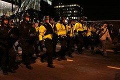forwaaard (tristam sparks) Tags: camp london crowd protest streetphotography police demonstration kettle climate liverpoolstreet crowdcontrol bishopsgate cityoflondon riotpolice occupation camomile g20 climatecamp camomilestreet kettling g20meltdown