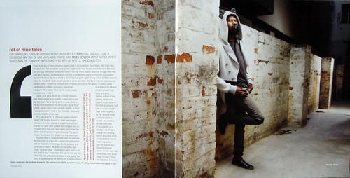 Rattex in Obrigado Magazine