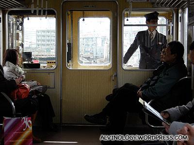 On the Hankyu train