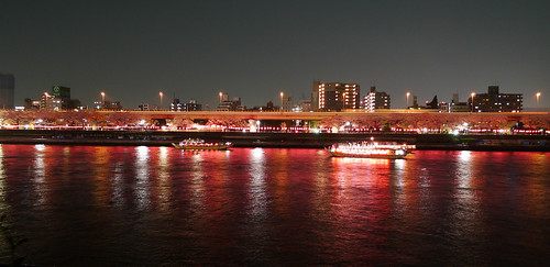Sumida River by Night