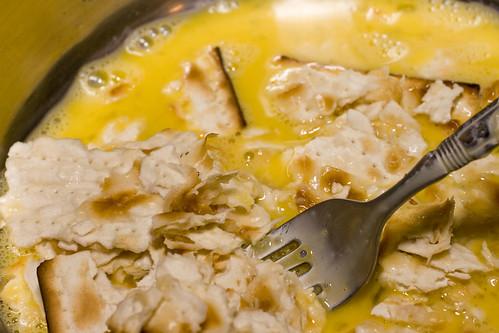 Combing Egg & Matzoh