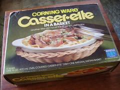 original box (gwen.erin) Tags: kitchen vintage housewares casserole dishes trade fleamarket cookware pyrex thrifting corning glassware hopechest purchases