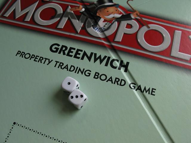 Greenwich Monopoly