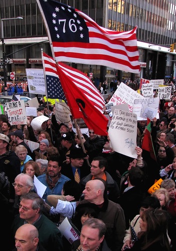 Manhattan Tea Party Crowd by ajagendorf25, on Flickr
