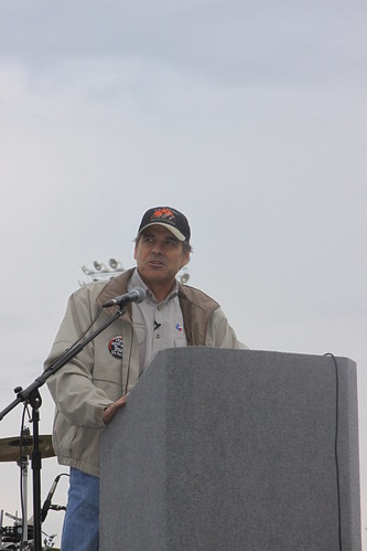Speaking at Fort Worth TEA Party by Governor Rick Perry.