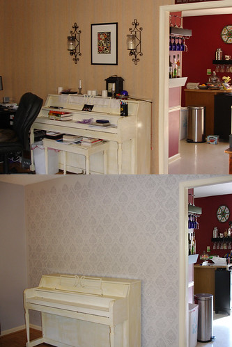 Home Renovation: Front Room Before & After