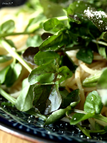 Water cress and pasta