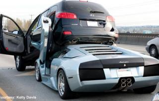 Hyundai Santa Fe Vs Lamborghini Murcielago   Hyundai Forums