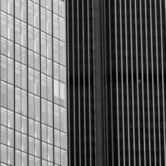 lines (Homemade) Tags: windows blackandwhite london lines architecture tower42 cityoflondon natwesttower londonist squaremile stockexchangetower nikkor135mmf28 nikon135mmf28