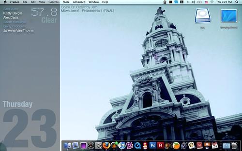 Cory's Desktop - May 2009 - Take 2