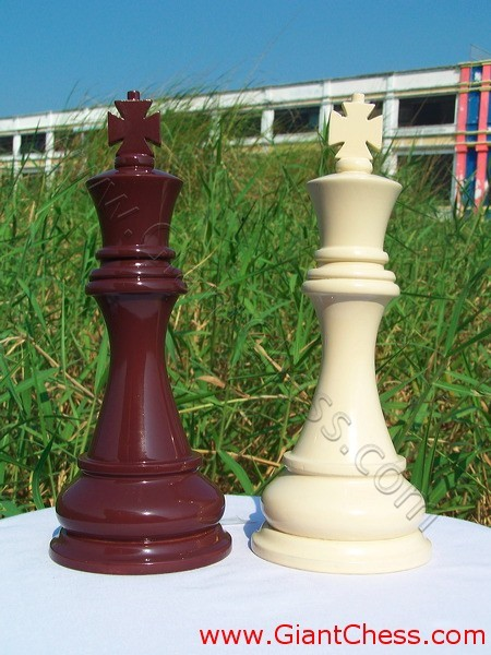 giant color chess chestnut brown and edelweis chess