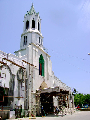 The Mabolo church with its neo gothic design, recently has been under heavy renovation.