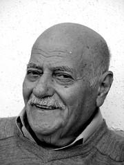 Pappu (guyatar) Tags: old portrait bw grandfather guyatr