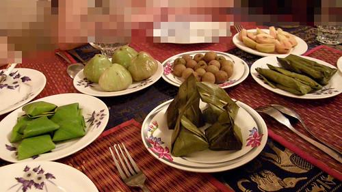 095.Ponlok Retauran的餐後甜點與水果