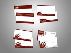 new biz card - round up 1 (@muntz) Tags: red church design marketing business card burst nametag businesscard splat