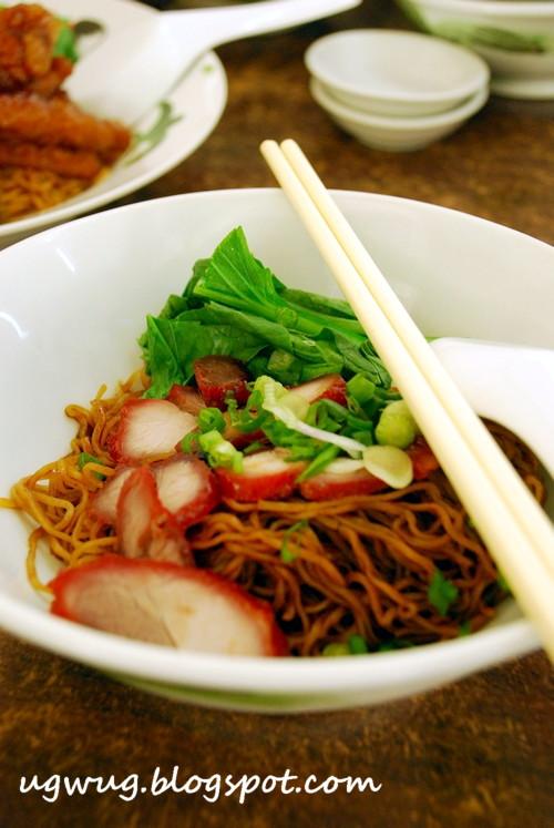Char Siew Wantan Noodles
