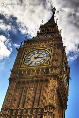 Big Ben (taneuhua) Tags: uk london clock bigben