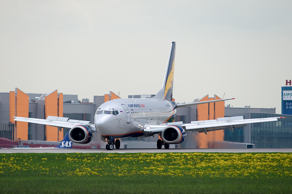Aeroflot - Don VP-BVU Boeing 737-5Q8