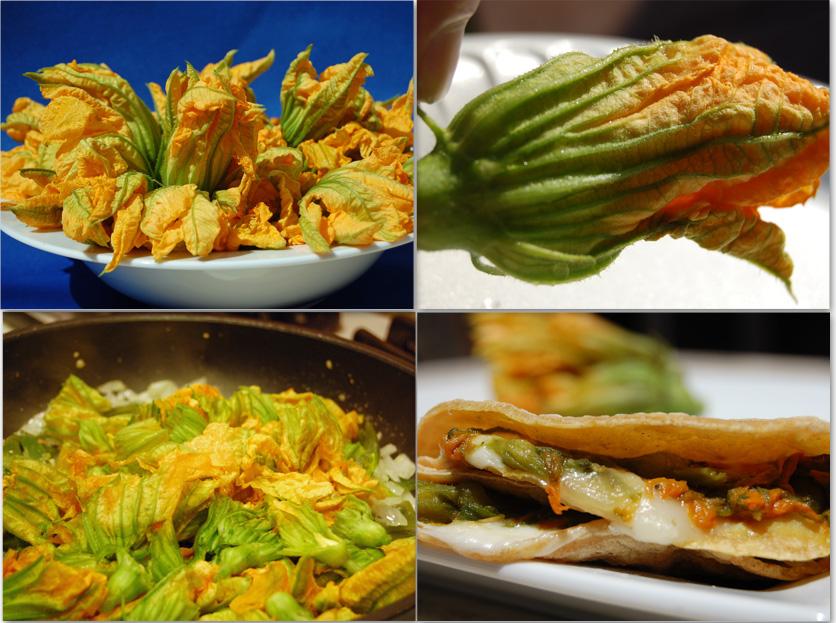 Quesadillas De Flor De Calabaza Squash Blossoms Recipe