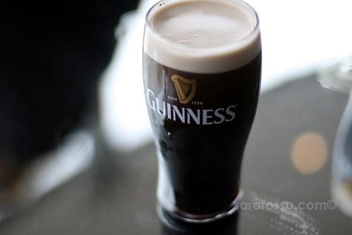 A Guinness pint ready for a first sip, Guinness Storehouse, Dublin, Ireland