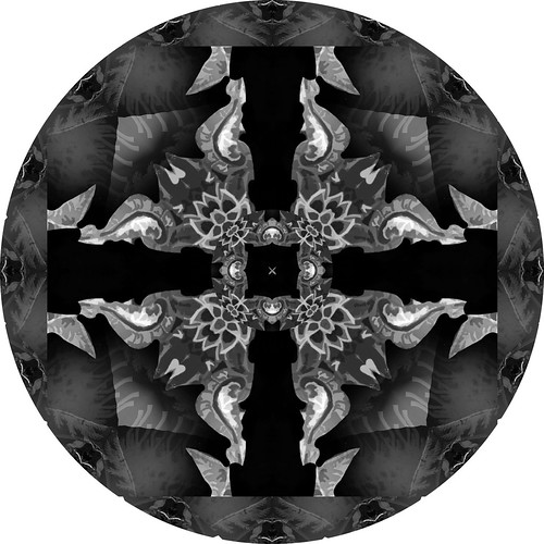 My First Kaleidoscope (BW)