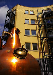 Jamesons (albireo 2006) Tags: ireland dublin yellow architecture wow still whiskey eire copper whisky distillery jamesons distillation cubism oldjamesonsdistillery