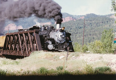 Durango and Silverton #480 Mikado 2-8-2 (lionel682) Tags: outside blw colorado silverton frame works mikado locomotive 480 gauge narrow durango baldwin 282 k36