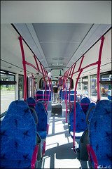 Open Door Day - Mercedes Citaro G II inside view (ichael C.) Tags: bus buses mercedes view transport vehicle inside intrieur dpt opendoorday communs journeportesouvertes tcrm citarogii