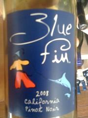 2008 Blue Fin Pinot Noir