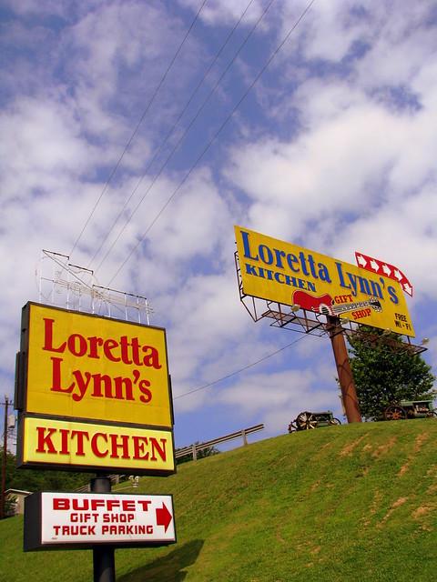 Sign to Loretta Lynn's Kitchen