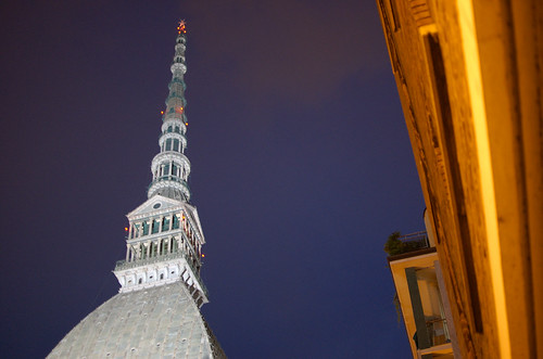 The Mole Antonelliana, landmark of Turin